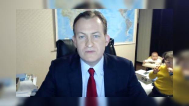 Дети вторглись впрямой эфир BBC— Курьез наТВ