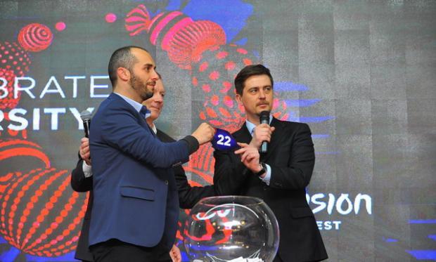 Стало известно под каким номером Украина выступит на«Евровидении-2017»