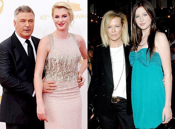 Голливудские актеры Алек Болдуин и Ким Бейсингер за девять лет брака успели  обзавестись дочерью e2d50443798ed
