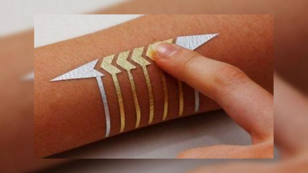 Германские  инженеры выдумали  технологию смарт-татуировки для управления гаджетами и«умным» домом