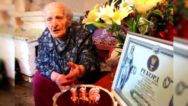 НаЧерниговщине женщина стала рекордсменкой государства Украины подолголетию