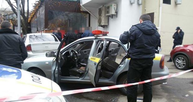ВКиеве преступники  напали намашине  частной охранной компании  - введен план «Перехват»