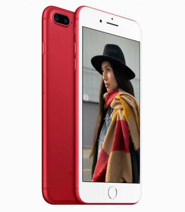 Названа стоимость красного iPhone 7 в РФ