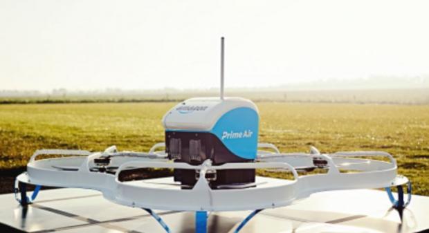 ВСША состоялась первая демонстрация грузового дрона Prime Air отAmazon