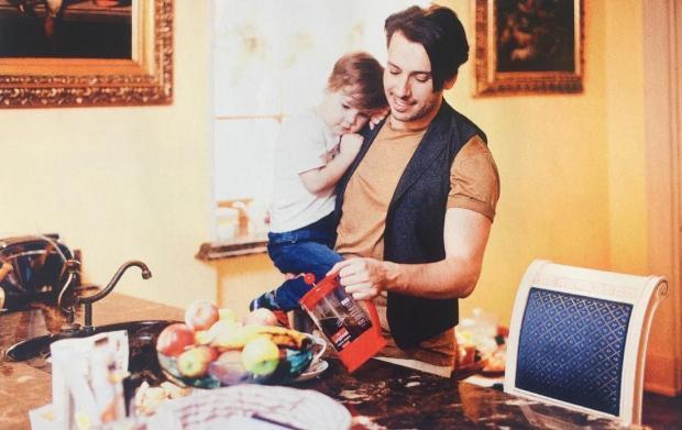 Максим Галкин снялся втрогательной фотосессии с3-летним сыном