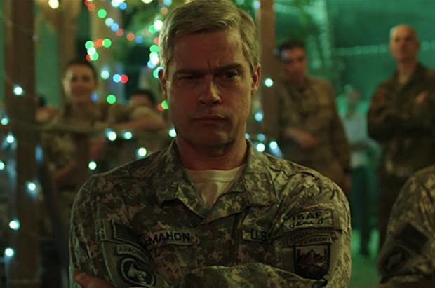 Брэд Питт вновом трейлере фильма «Машина войны»