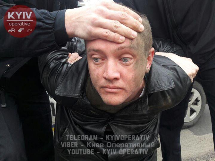 ДТП вКиеве устроил нетрезвый советник министра ипытался исчезнуть