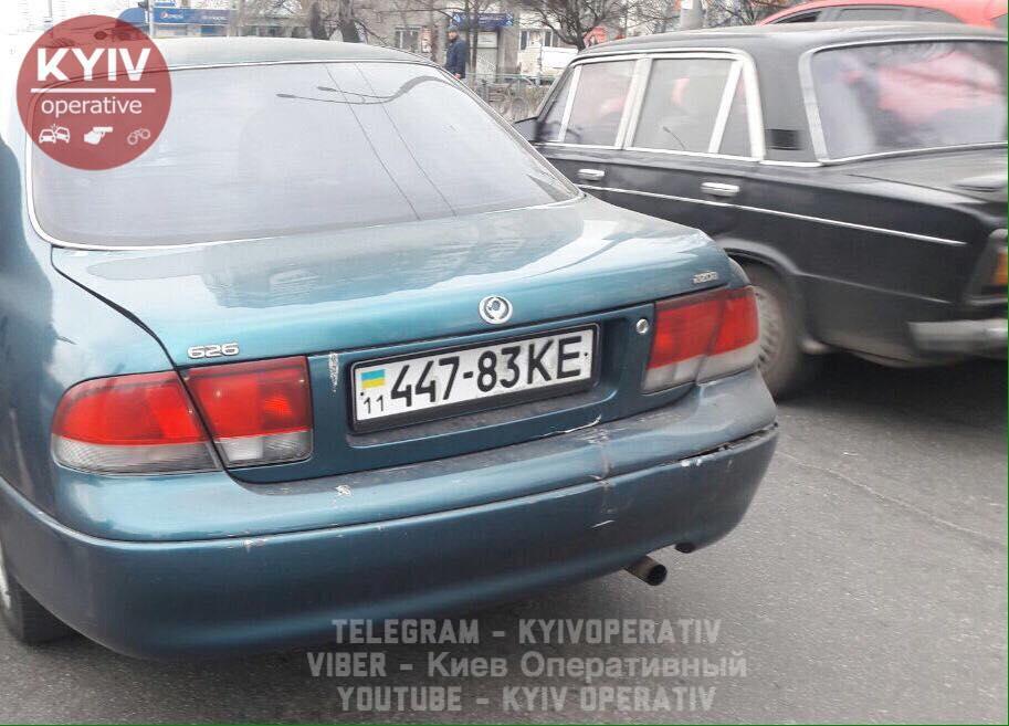 ВКиеве схвачен нетрезвый «советник министра», который убежал сместа ДТП
