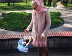 Ведущая Ольга Горбачева также присоединилась к фото-марафону с куличами
