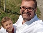 Пономарев отметил праздник с сыном