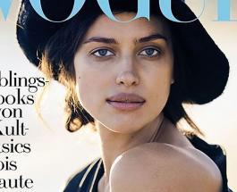 Ирина Шейк без макияжа стала героиней нового номера немецкого Vogue