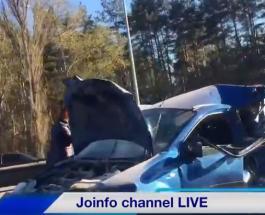 Серьезная авария на Житомирской трассе: видео