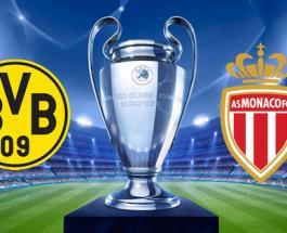 На каком канале сегодня футбол: Боруссия - Монако в первом матче четвертьфинала