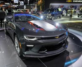 """ТопЖыр по-американски: на Chevrolet Camaro поставили """"двигатель-монстр"""""""
