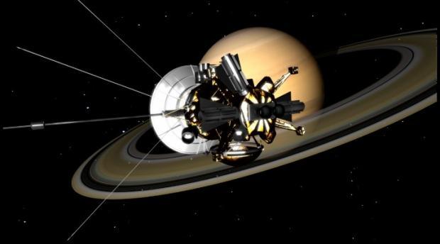 Как космический аппарат будет частью Сатурна— превосходный финал Cassini