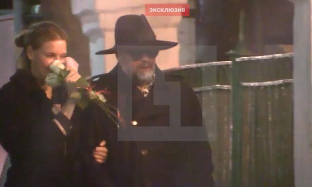 Любовь Толкалина встречается сБорисом Гребенщиковым