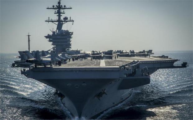 Ударная группировка ВМС США резко сменила курс после угроз Ким Чен Ына