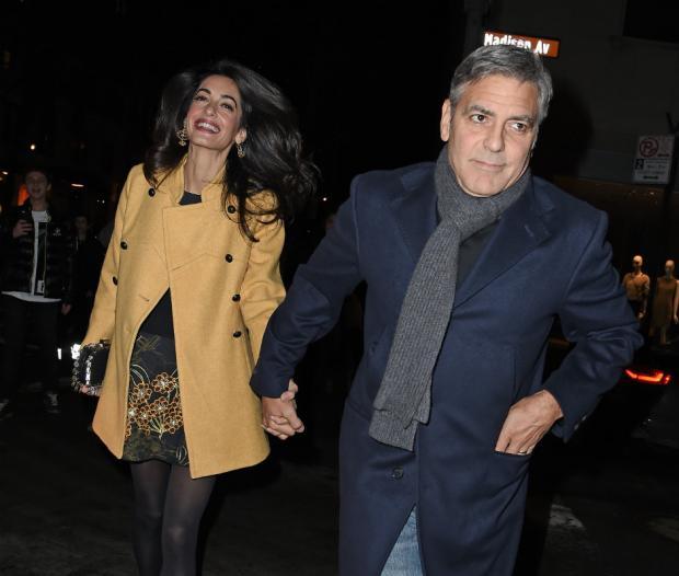 Беременная супруга Джорджа Клуни выгнала его изспальни
