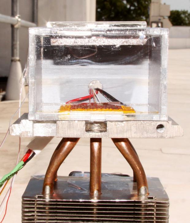 Физики создали прибор для извлечения воды из сухого воздуха