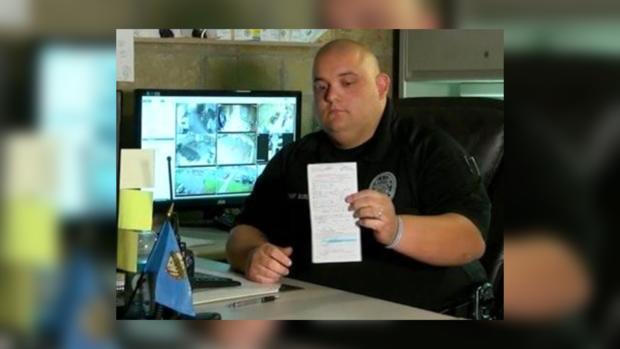 ВСША полицейский оштрафовал сам себя запревышение скорости