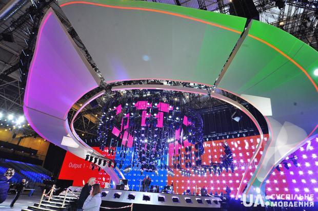 «Евровидение–2017»: сцена конкурса готова на 95 %