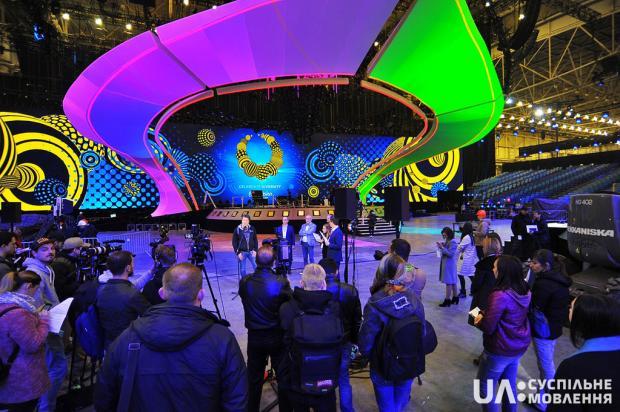 Главная арена Евровидения-2017 на100% готова: появились фото