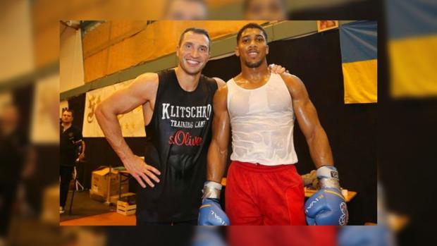 WBA подготовила специальный пояс для боя Кличко— Джошуа