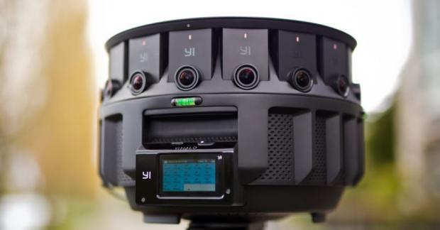 ВGoogle показали новейшую панорамную камеру Halo