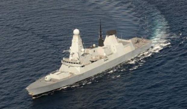 Британский эсминец HMS Daring вошел вакваторию Черного моря