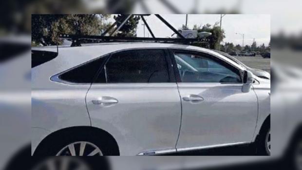 В Калифорнии впервые заметили беспилотный автомобиль Apple