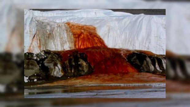 Ученые разгадали вековую загадку Кровавого водопада вАнтарктиде