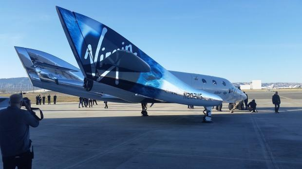 Компания Ричарда Брэнсона проверила корабль SpaceShipTwo для космического туризма