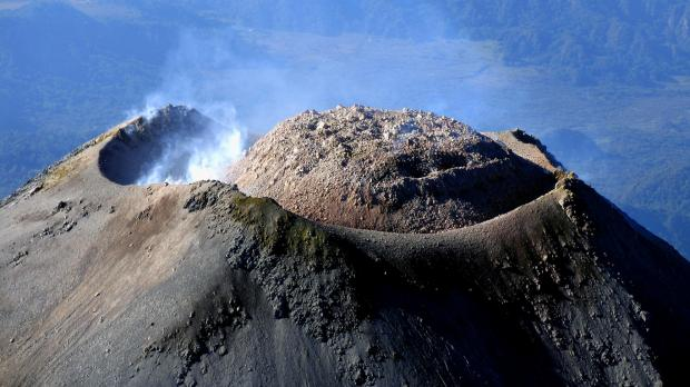 Над извергающимся вулканом Попокатепетль зафиксирован НЛО