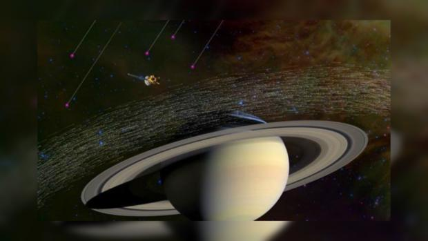 НАСА опубликовало видео первого «нырка» Кассини ватмосферу Сатурна