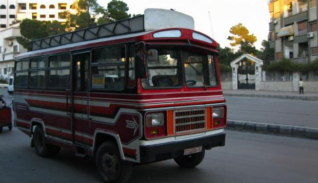 5 бомб взорвались вследовавшем изДамаска автобусе