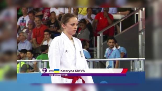 Украинские спортсменки завоевали два «золота» начемпионате Европы покаратэ