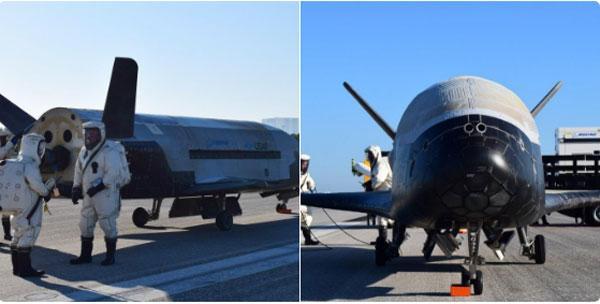 Секретный космолет ВВС США вернулся наЗемлю после 2-х лет наорбите