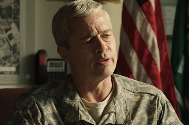 «Машина войны»: Брэд Питт всатирической комедии про Афганистан