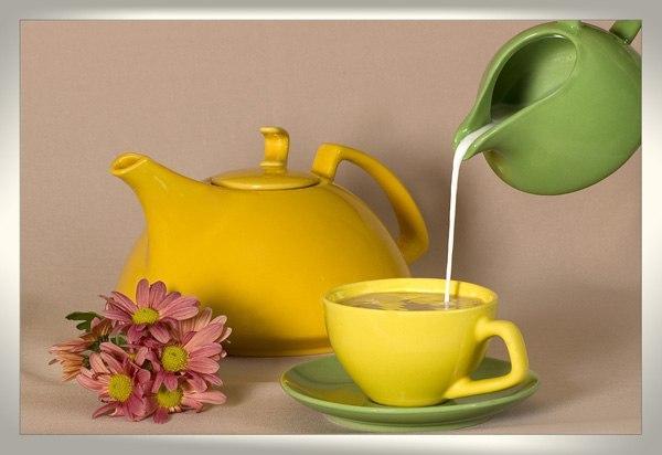 Похудеть чай с молоком