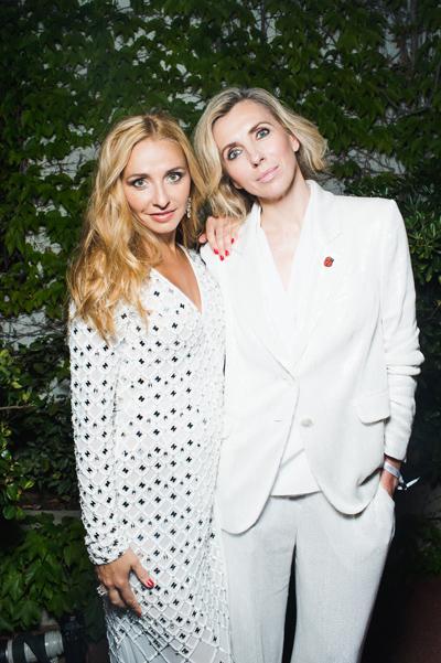 Татьяна Навка и Светлана Бондарчук познакомились с Ким Кардашьян
