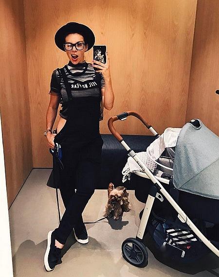 Анна Седокова воспитала дочь-модель
