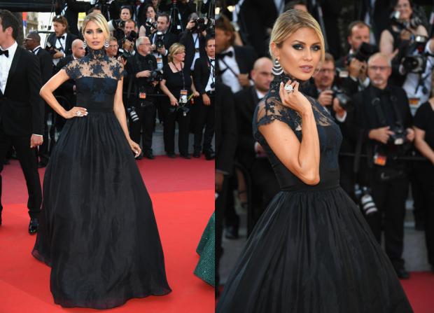 Черное платье виктории бони