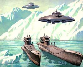 Уфологи нашли базу нацистов в Антарктиде