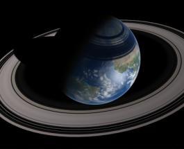 Земля после взрыва Луны обзаведется кольцами как у Сатурна