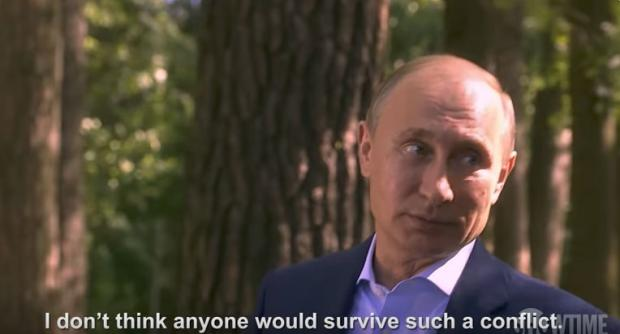 Стоун подарил Путину пустую коробку отдиска сфильмом оядерной бомбе