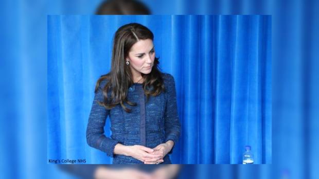 Кейт Миддлтон поразила длиной собственной юбки
