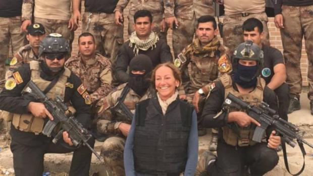 Пострадавшая при взрыве вМосуле французская журналистка скончалась