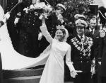 Король Карл XVI Густав и Сильвия Зоммерлат. Швеция, июнь 1976