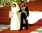 Наследный принц Харальд и Соня Харальдсен. Норвегия, август 1968