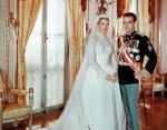 Князь Ренье III и Грейс Келли. Монако, апрель 1956
